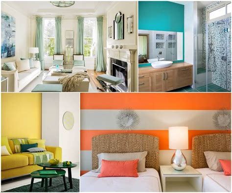 interesting tropical colors for home interior pictures