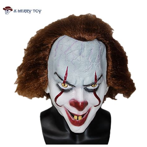 It Pennywise Clown Mask Costume aliexpress buy x merry 2017 stephen king s