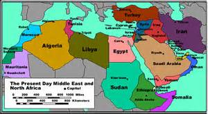 map of middle east countries general economics of the mena
