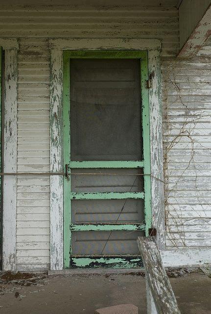 simpler thyme  screen door  screen doors green door