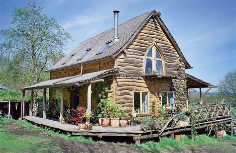 Lake Cottage Plans by Ben Law Woodsman Coppicer And Natural Eco Builder Of