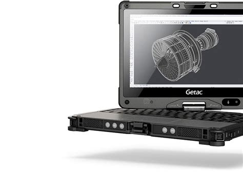 gtech rugged laptop getac v110 fully rugged convertible