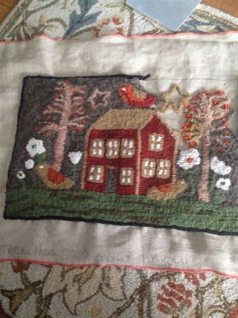 1369 best images about crafts punch needle rug hooking
