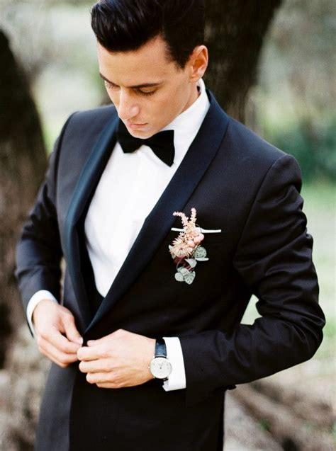 Groom Wedding Pictures by Best 25 Black Tux Ideas On Black Tuxedo