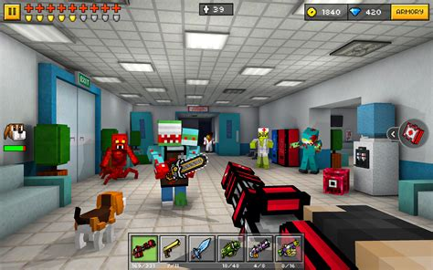 pixel gun  pocket edition multiplayer shooter