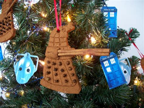 zinggia scented doctor who christmas ornaments zinggia