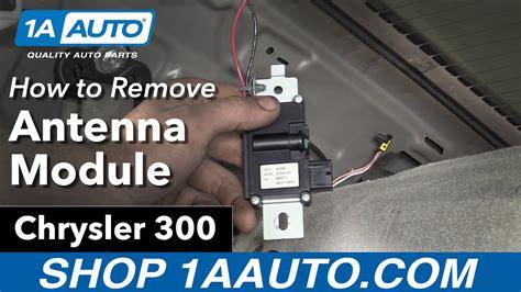 remove install antenna module  chrysler  buy