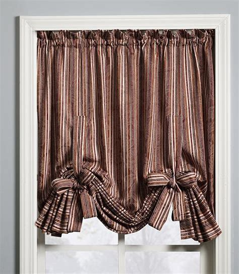 Tie Up Curtains Curtain Tie Up 28 Images Sheer Tie Up Shade Curtain By Collections Etc Ebay Achim Aubergine