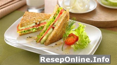 cara membuat roti tawar segi empat 5 resep makanan cepat saji penuh gizi untuk bekal anak di