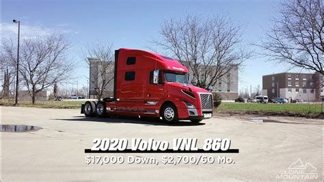 2020 Volvo Vnl 860 Globetrotter Xl by 2020 Volvo Vnl 860 Lone Mountain Truck Leasing
