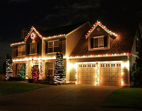 pictures of homes decorated for christmas outside unique outdoor christmas lights modern magazin