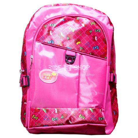 Tas Punggung Ransel Gendong Anak Sekolah 3995 jual tas ransel anak shafa pink besar sekolah gendong bide shop