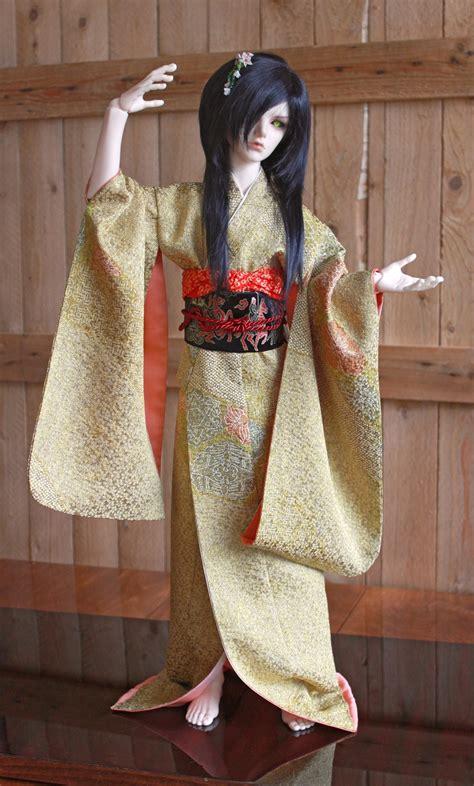 kimono pattern bjd bjd kimono golden dance by inarisanscrafts on deviantart