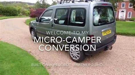 peugeot mini car how to build a cheap micro cervan all about van
