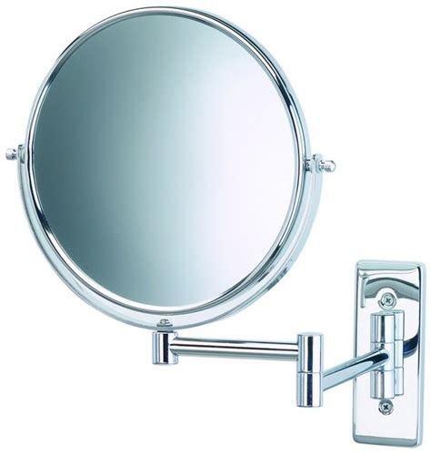 bathroom mirrors with magnification 10x wall mount chrome magnifying mirror wall mounted