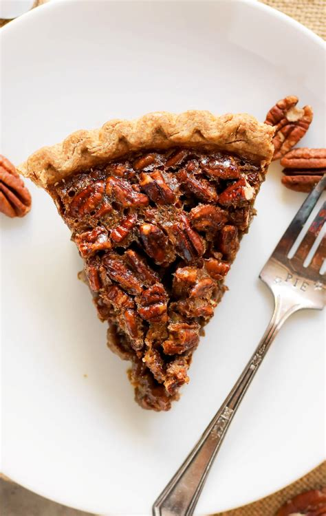 healthy pecan pie recipe   corn syrup butter