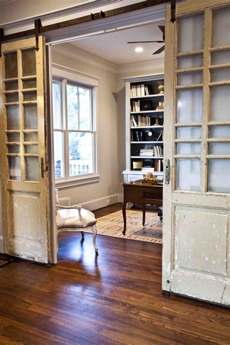 Lowes Sunroom Repurposed Doors Projects Using Vintage Wood Doors