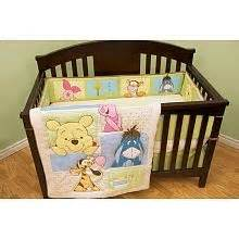 Peeking Pooh Crib Bedding Peek A Boo Pooh Bedding Set Baby Nursery Pinterest