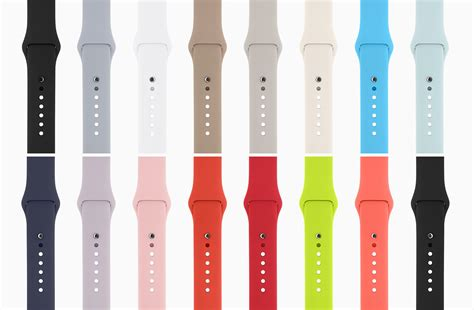 New Color Premium Sport Band For Apple Iwatch 38mm 42 Mm apple announcements from the september 9 apple keynote macstories