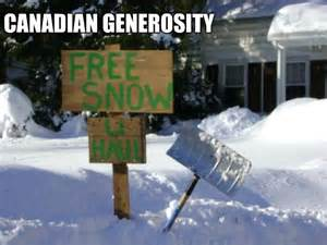 Canada Snow Meme - being canadian memes