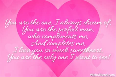 you are the one i always love message for boyfriend