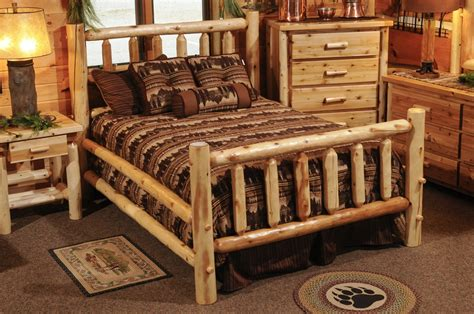 cedar bedroom sets hayward traditional cedar bedroom set discounted aspen log furniture the log furniture store