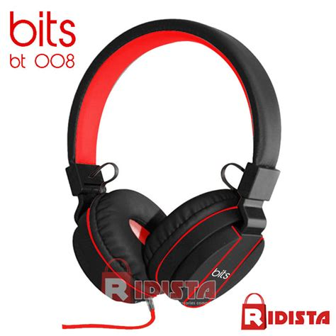 jual bits sport beat headphone headset ear bt 008