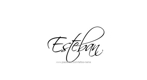 nombre esteban en pictures to pin on pinterest tattooskid