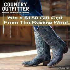Country Outfitters Boots Giveaway - country outfitters giveaway from the more the merrier