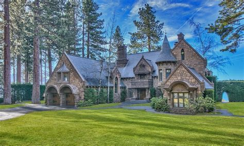 tahoe castle the dreamy castle on lake tahoe costs 26 million