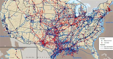 pipeline map usa and gas pipelines in the us the new editor