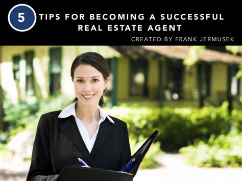 frank jermusek 5 tips for becoming a successful real