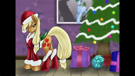 pony friendship  magic     merry christmas slideshow youtube