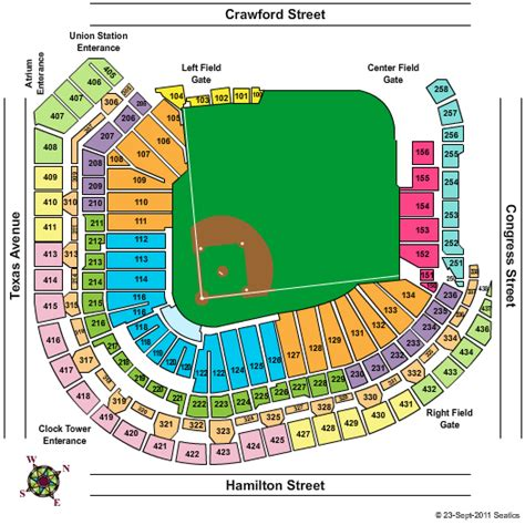 astros seating chart minute park seating chart suites minute park