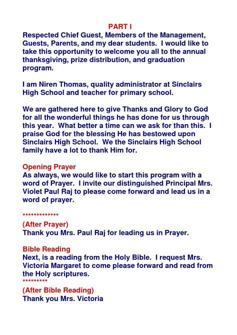 emcee script for christmas program of teachers ceremony quotes quotesgram