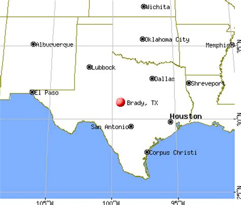 brady texas map opinions on brady texas