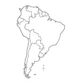america blank outline map south america blank map