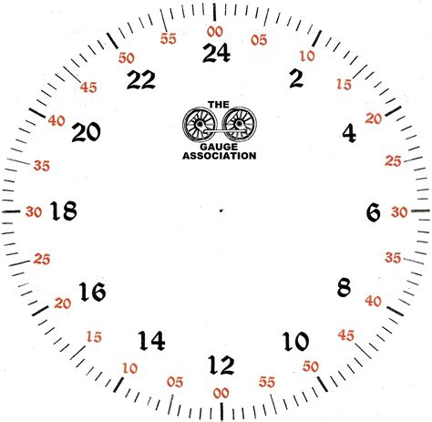 Printable Military Clock Face | clock face printable activity shelter