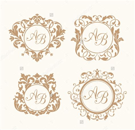 Free Wedding Logo Template wedding logo template 90 free psd eps ai illustrator format free premium