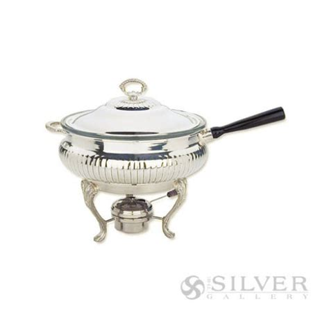 Bell Chafing Dish reed and barton chafing dish