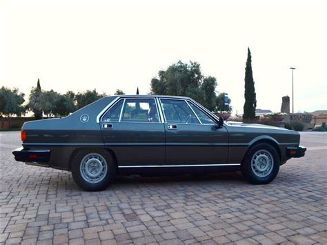 New 4 Door Maserati by 1985 Maserati Quattroporte Iii 4 Door 28 540 Grigio