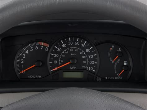 buy car manuals 2005 toyota corolla instrument cluster image 2008 toyota corolla 4 door sedan man ce natl instrument cluster size 1024 x 768 type