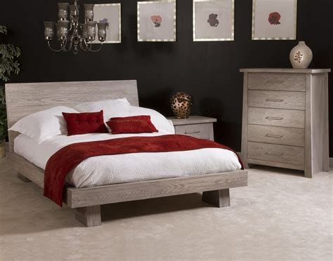 zen bedroom ligna zen 4 low profile bedroom set in driftwood