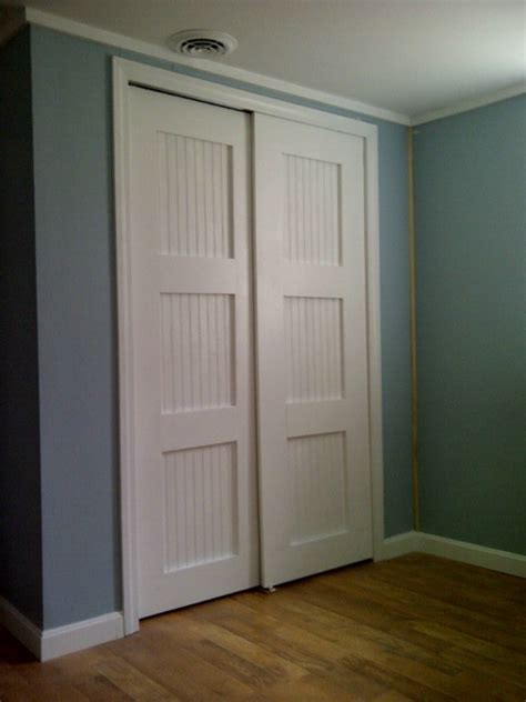 Diy Closet Doors Bypass Closet Doors Diy Wood Projects For The Home Pinterest