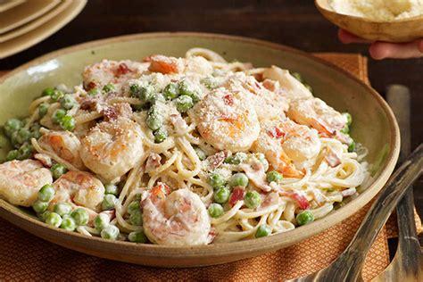 Fall Favorite Fettuccini Alfredo Como Living Magazine Shrimp Carbonara Kraft Recipes