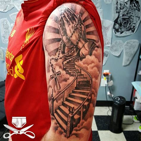 staircase tattoo the 25 best stairway to heaven ideas on