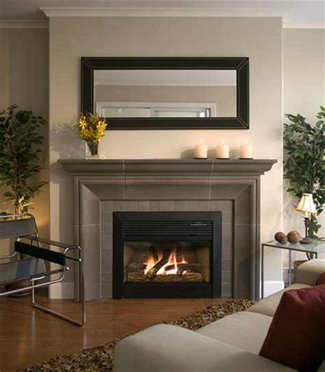 concrete fireplace surrounds photo
