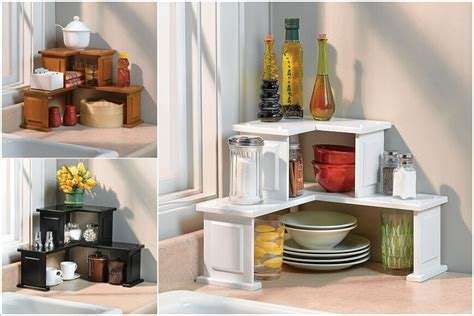 kitchen countertop storage ideas 10 clever corner storage ideas for your home