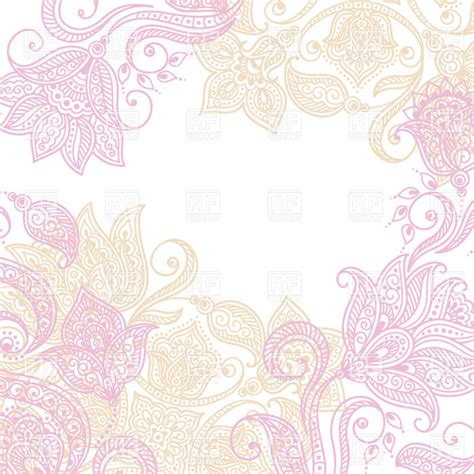 pink ethnic wallpaper pink indian ethnic tracery background with mehndi style