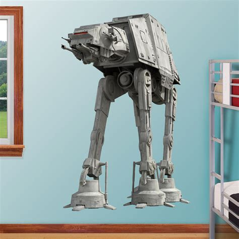 Halloween Home Decor Catalogs fathead star wars at at massive wall graphic the green